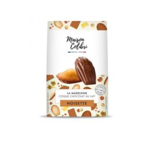 paquet madeleine maison colibri noisette coque chocolat au lait