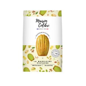 paquet madeleine maison colibri pistache