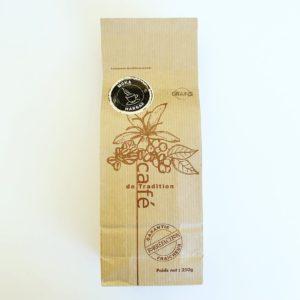 café grains pérou ethiopie moka harrar paquet 250g