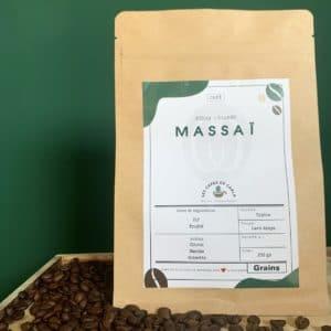 paquet café grains massai kenya