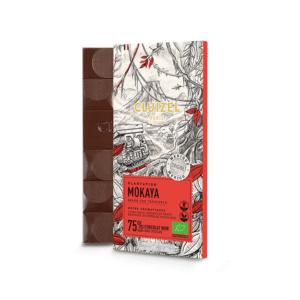 tablette chocolat noir mokaya
