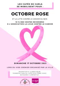 flyers octobre rose